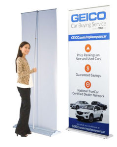 retractable banner stand rochester ny printer